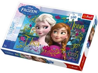 "Puzzle ""100 Anna i Elsa"" / Disney Frozen"