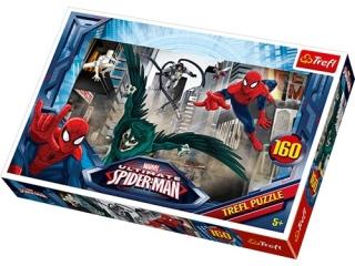 """Puzzle """"160 W pogoni za z³oczyñc±"""" / Disney Marvel Spiderman"""