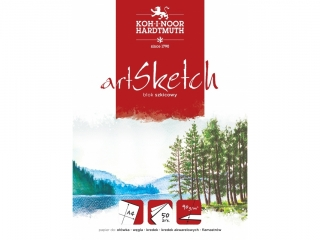 "BLOK SZKICOWY ""ART SKETCH"" A4 50ARK 90G [opakowanie=10szt]"