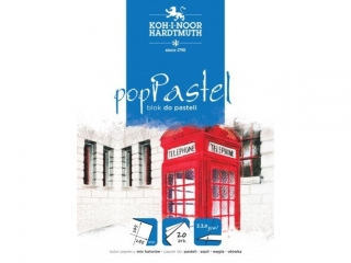 "BLOK DO PASTELI ""POP PASTEL"" 300x420 20ARK 220G BIA£Y"