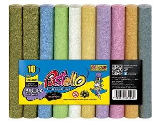 Bibu³a MINI MINI 25x200 cm mix 10 kolorów Per³a