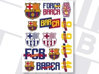 NAKLEJKI FC-115 FC BARCELONA BARCA FAN 4