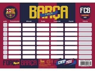 PLAN LEKCJI FC-118 FC BARCELONA BARCA FAN 4 [opakowanie=25sz