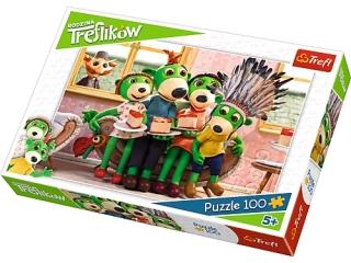 "Puzzle ""100 Zabawa w Indianina"" / Studio Trefl Rodzina Trefl"
