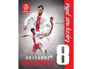 Plakat Kibica 40x50cm mix 5 wzorów PZPN