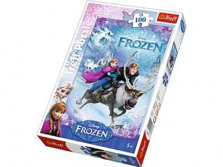 "Puzzle ""100 Na ratunek Annie"" / Disney Frozen"