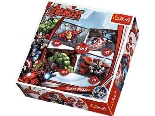 "Puzzle ""4w1 Avengers"" / Disney Marvel The Avengers"