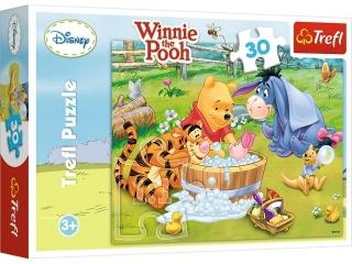 """Puzzle """"30 K±piel Prosiaczka"""" / Disney Winnie the Pooh"""