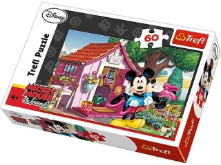 """Puzzle """"60 Miki i Minnie w ogrodzie"""" / Disney Standard Chara"""