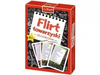 """""""Karty - Flirt Towarzyski""""  Trefl 08388"""