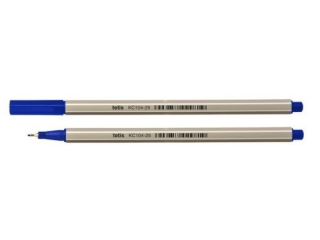 Cienkopis heksagonalny 0, 7 mm 4 szt.(nieb.) PR2019