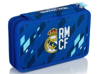 Piórnik podwójny bez wyposa¿enia 2BW RM-135 Real Madrid Colo
