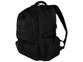 Plecak 4-komorowy  BP36 MILITARY BLACK [opakowanie=6szt]