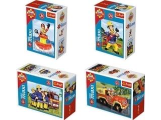 """Puzzle """"20 """"miniMaxi"""" - Zawsze na s³u¿bie / Fireman Sam"""