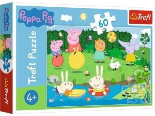"""Puzzle """"60 Wakacyjna zabawa / Peppa Pig"""""""
