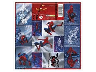 NALEPKI 16X16 SPIDER-MAN HOMECOMING [opakowanie=25szt]