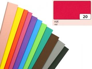 Arkusze piankowe, czerwony, 20x29cm, 10 ark, Folia [opakowan