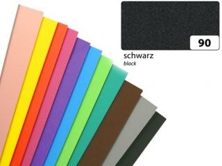 Arkusze piankowe, czarny, 20x29cm, 10 ark, Folia [opakowanie