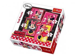 """Puzzle """"4w1 Piêkna Minnie"""" / Disney Minnie"""