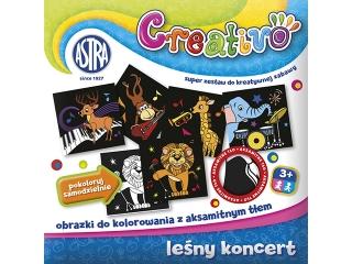 Astra Creativo - Le¶ny koncert - obrazki do kolorowania z ak