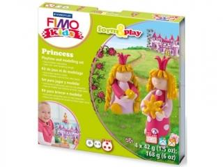 Zestaw FIMO Kids FormxPlay, Ksiê¿niczki, 4 x 42g + akcesoria, Staedtler