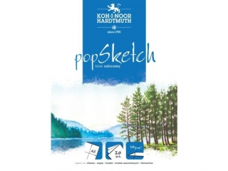 "BLOK SZKICOWY ""POP SKETCH"" A4 50ARK 100G"