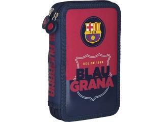 Piórnik podwójny bez wyposa¿enia 2BW FC-91 Barcelona Barca Fan 4