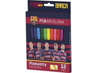 Flamastry 12 kolorów FC Barcelona