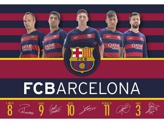 PODK£ADKA NA BIURKO FC-119 FC BARCELONA BARCA FAN 4
