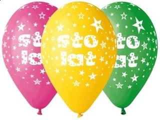 "Balony Premium ""Sto Lat"", 12"" / 5 szt."