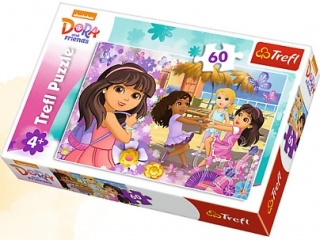 "Puzzle ""60 Taniec i muzyka / Viacom Dora And Friends"