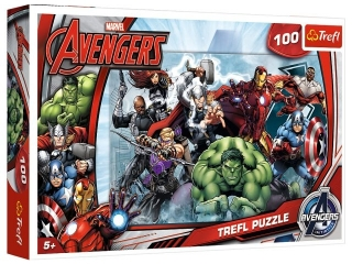 "Puzzle ""100 Do ataku"" / Disney Marvel The Avengers"