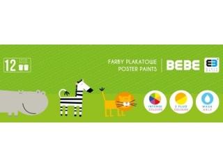 BBI FARBY PLAKATOWE 12 KOL. BB KIDS