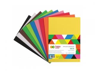 Arkusze piankowe MIX, A4, 10 ark, 10 kolorów, Happy Color