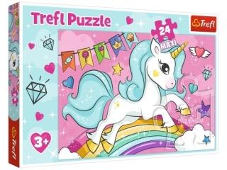 """Puzzle """"24 Maxi"""" - S³odki jednoro¿ec / Trefl"""
