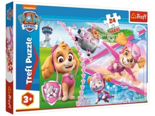 "Puzzle - ""24 Maxi"" - Bohaterska Skye / Viacom Paw Patrol"