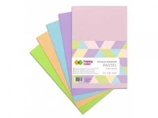 Arkusze piankowe PASTEL A4, 5 ark, 5 kolorów, Happy Color