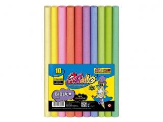 Bibu³a PASTELOWA MINI 25x200 cm mix 10 kolorów PAS-3382