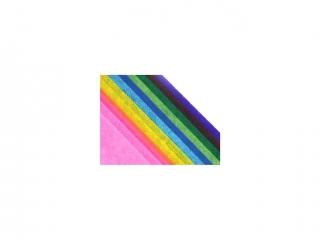 Bibu³a g³adka 50 x 70 op. 5 ark. mix kolorów 0681