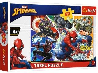 "Puzzle ""60 -Waleczny Spider-Man / Disney Marvel Spiderman"