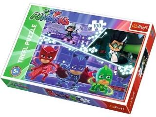 "Puzzle ""100 Pid¿amersi w akcji/E1 PJ Masks"