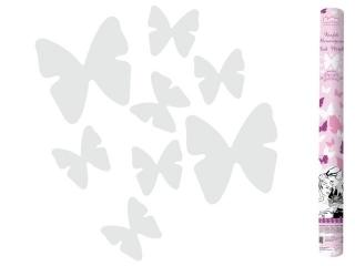 "Konfetti pneumatyczne ""Bia³e motylki"" / 60 cm"