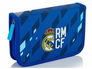 Piórnik pojedynczy z wyposa¿eniem, 2 klapki, 1W2 RM-132 Real Madrid Color 4