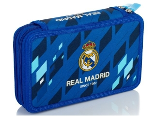 Piórnik podwójny z wyposa¿eniem 2W RM-134 Real Madrid Color 4