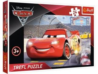 "Puzzle ""24 Maxi Mistrz / Disney Cars 3"
