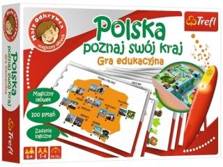 Gra - Polska - poznaj swój kraj / Ma³y odkrywca i magiczny o