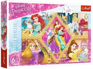 """Puzzle """"160 Przygody ksiê¿niczek / Disney Princess"""