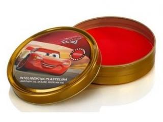 Inteligentna plastelina czerwona Cars