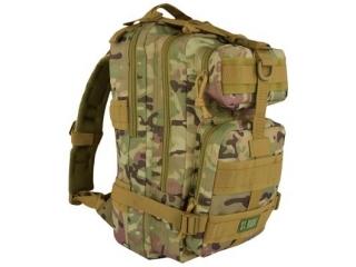 Plecak 4-komorowy  BP43 MILITARY MULTI COMO [opakowanie=6szt]