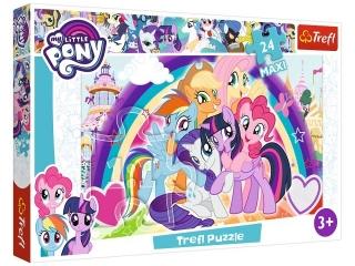 "Puzzle ""24 Maxi - Szczê¶liwe kucyki""  / Hasbro, My Little Po"